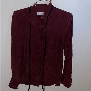 Frame Denim Shirt Women's Buttoned Shirt (Size XS)